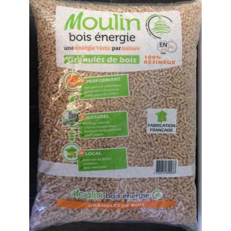 MOULIN BOIS ENERGIE GRANULES